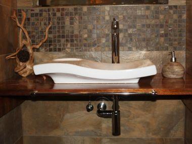 Łazienka, drewno