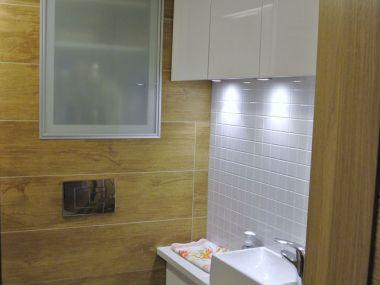Łazienka, jasne kolory