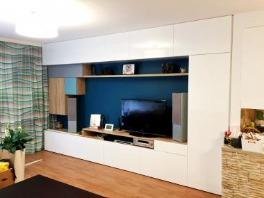 Salon - zabudowa TV